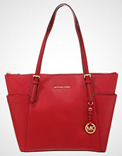 Michael Kors JET SET Shopping bag cherry