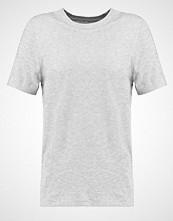 Selected Femme SFMY PERFECT Tshirts light grey melange