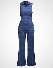 Free People THE WIND AND MORE Jumpsuit blue