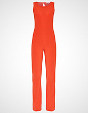 Patrizia Pepe Jumpsuit red clay