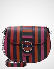 MAX&Co. ACRONIMO Skulderveske red/violet/green/black
