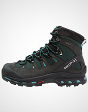 Salomon QUEST 4D 2 GTX  Turstøvler asphalt/green black/haze blue