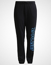 Nike Performance Treningsbukser dark grey heather/black/lite photo blue
