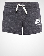 Nike Sportswear GYM VINTAGE Treningsbukser anthrazit/weiß