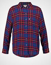 Levi's SIDNEY BOYFRIEND FIT Skjorte dunkelrot/dunkelblau