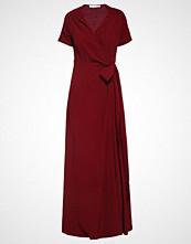 IVY & OAK Fotsid kjole bloody red