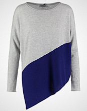 Cocoa Cashmere Jumper grey/frenchnavy