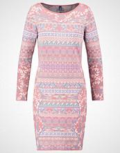 KOOI Strikket kjole pink