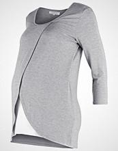 Zalando Essentials Maternity Topper langermet mid grey melange