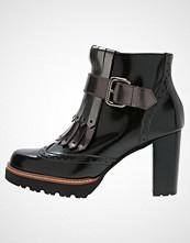 Gadea MAKE  Ankelboots black/likid acero/brown
