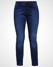 Zizzi SANNA SLIM FIT Slim fit jeans blue d. washed