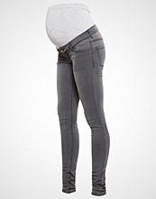 Mamalicious MLIDA Jeans Skinny Fit dark grey denim