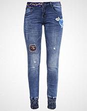 Desigual Slim fit jeans denim dark blue