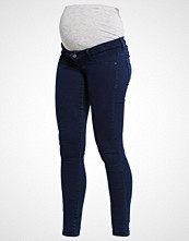 Mamalicious MLELLA  Jeans Skinny Fit dark blue denim