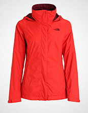 The North Face EVOLVE II 3IN1 Hardshell jacket high risk red
