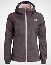 The North Face QUEST Hardshell jacket rabbit grey/black heather