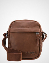 Eastpak THE ONE/LEATHER Skulderveske brownie leather