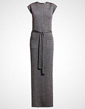 Karen by Simonsen JEWEL  Fotsid kjole moon grey melange