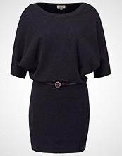 Khujo HEIDE Strikket kjole black melange