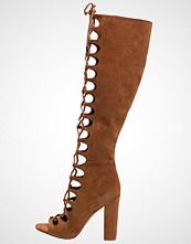 KENDALL + KYLIE EMMA Sandaler med høye hæler dark modern cognac