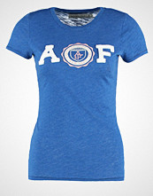 Abercrombie & Fitch CORE Tshirts med print true blue