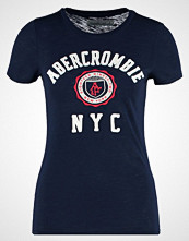 Abercrombie & Fitch CORE Tshirts med print navy