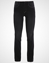 MAC DREAM Straight leg jeans soft black used