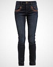 Mos Mosh Straight leg jeans dark blue denim