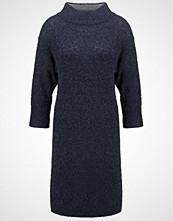 Part Two BAMIRRA Strikket kjole dark blue melange