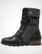Sorel MAJOR CARLY Snørestøvletter black/dark grey