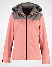 Adidas Performance WANDERTAG Hardshell jacket tech earth/ray pink