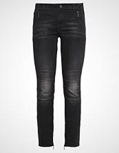More & More HAZEL Slim fit jeans black grey denim