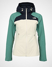 The North Face STRATOS Hardshell jacket vintage white/deep sea/urban navy