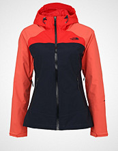 The North Face STRATOS Hardshell jacket urban navy/spiced coral/high risk red