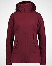 The North Face BROWNWOOD TRICLIMATE 2IN1 Hardshell jacket deep garnet red