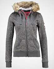 Superdry STORM Cardigan snow charcoal