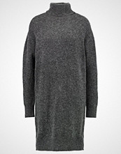 Moss Copenhagen JOLANDA Strikket kjole dark grey melange
