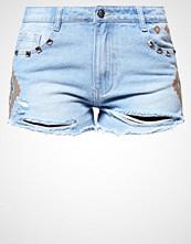 Missguided Denim shorts blue