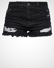 Missguided Denim shorts black