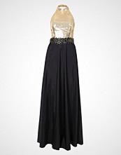 Luxuar Fashion Ballkjole schwarz/gold