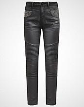 Mos Mosh OZZY BIKER Slim fit jeans black