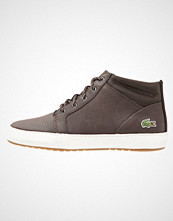 Lacoste AMPTHILL  Høye joggesko dark brown
