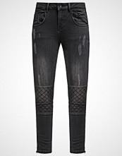 Mos Mosh BRADY BIKER Straight leg jeans black