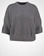 Nümph BRITANIA Jumper dark grey melange