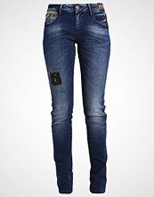 Desigual Straight leg jeans denim dark blue