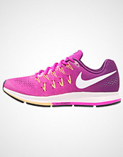 Nike Performance AIR ZOOM PEGASUS 33 Nøytrale løpesko fire pink/white/bright grape/peach cream/black/pearl pink