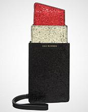 Lulu Guinness Clutch black/red