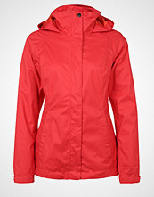The North Face EVOLVE II 3IN1 Hardshell jacket melon red