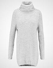 Object OBJEVIE Strikket kjole light grey melange