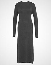 ADPT. ADPTHALLWAY Fotsid kjole dark grey melange